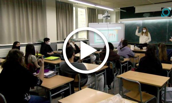 Els alumnes del Puig i Ferreter prenen consciència sobre els trastorns de la conducta alimentària