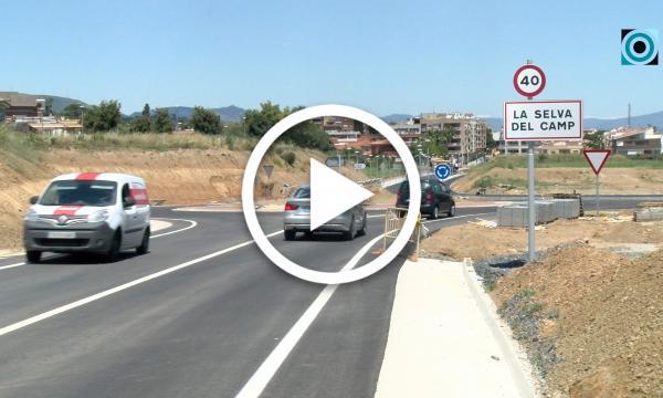 Recta final en les obres de millora de la carretera d'Almoster