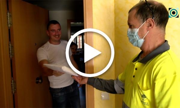L'Ajuntament lliura 60.000 noves mascaretes als empadronats als municipi