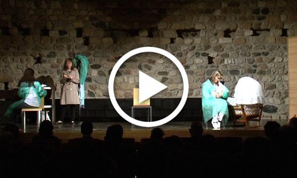 """""""Una dona, tres veus"""", teatre al Castell"""