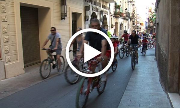 Festa Major. Bicicletada
