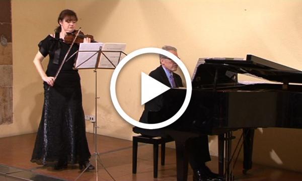 Concert de Cecilio Tieles i Iwona Burszinska