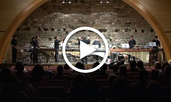 Concert dels grups de Metall i Percussió del Conservatori de Tarragona