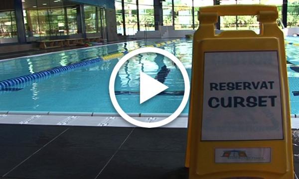 Inscripcions pel curs de natació al Pavelló