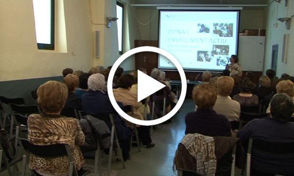 El Grup de Dones visita l' església de Sant Andreu