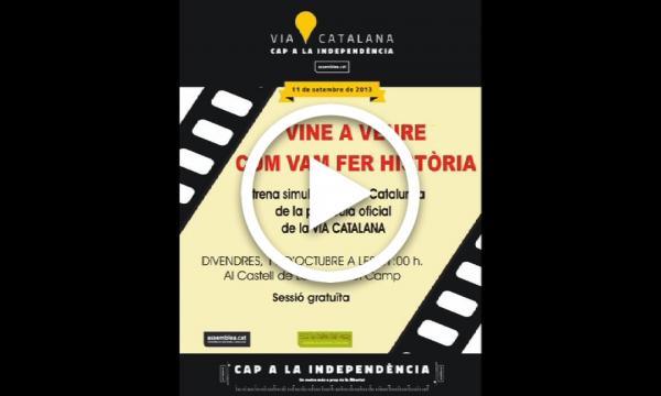 """Projecció del documental """"El general Moragues, l'heroi oblidat"""""""