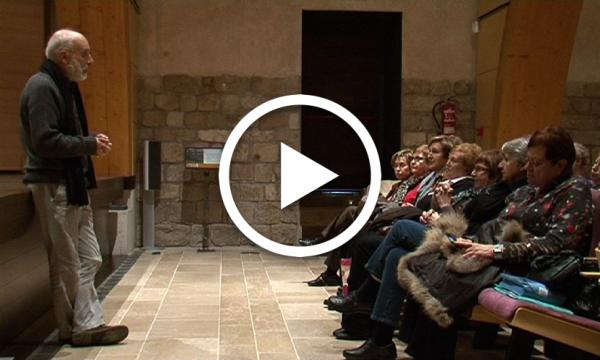 """Projecció de """"Les pintures murals de Paretdelgada"""""""