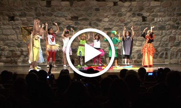 Teatre i música de la ma dels alumnes de l'Abel Ferrater