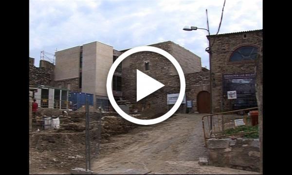Evolutiu de la construcció del Castell del Paborde (2011)