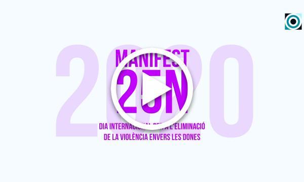 Manifest del Dia internacional per a l'eliminació de la violència envers les dones