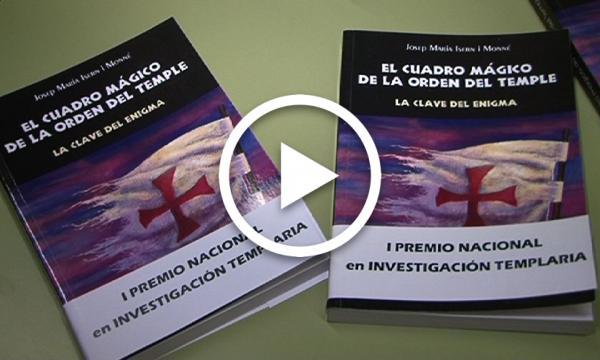 """Presentació del llibre """"El cuadro mágico del Temple"""""""